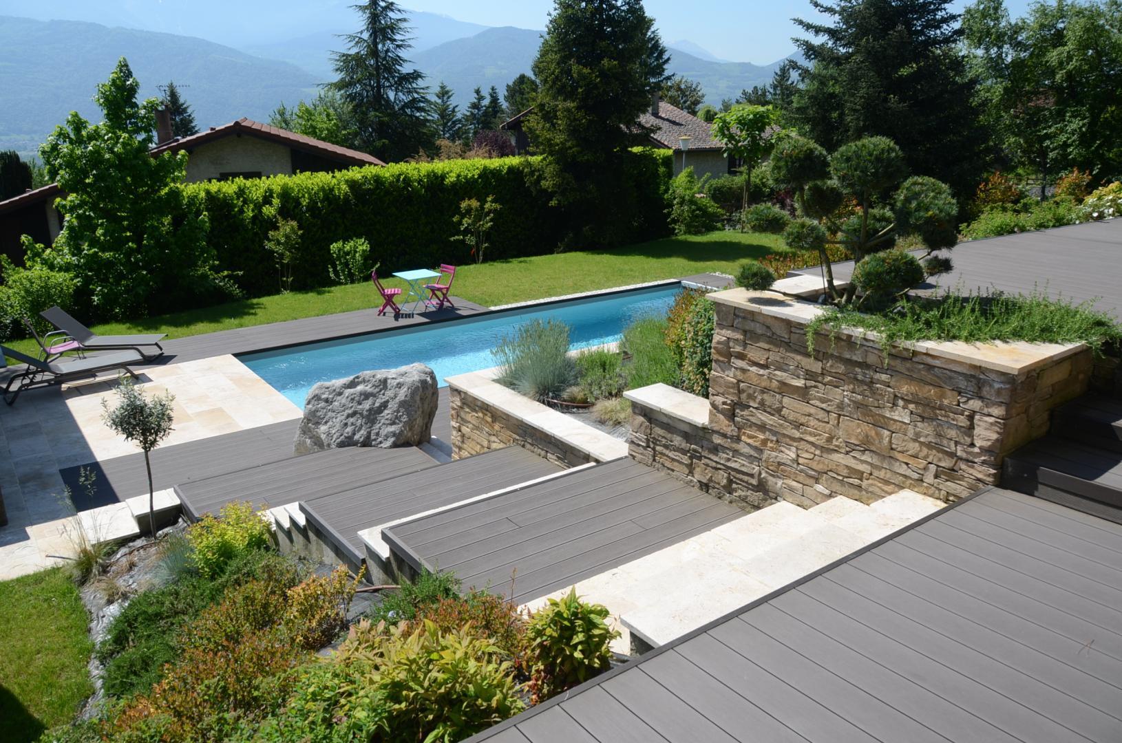 paysagiste saint ismier la tronche meylan piscine. Black Bedroom Furniture Sets. Home Design Ideas